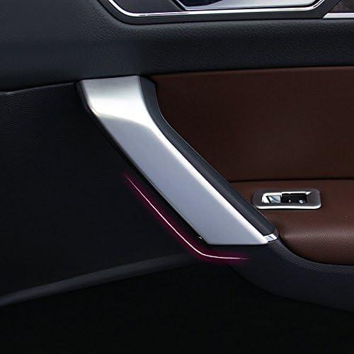 2016-2019 Interieur T/ürgriff Dekor ABS Kunststoff Matt 4 St/ück F/ür Touran II 2 Bj