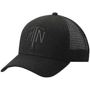 Mountain Hardwear Climb On Trucker Hat - Black MTN