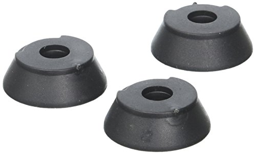 HurryCane Replacement Feet for Use with Freedom Edition Cane, Black