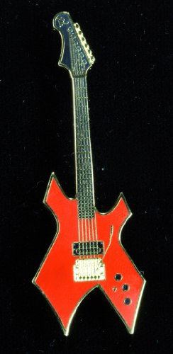 Harmony Jewelry BC Rich Warlock Electric Guitar - Gold and Red