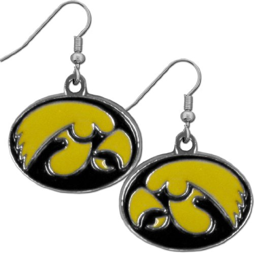 Iowa Hawkeyes Jewelry (NCAA Iowa Hawkeyes Chrome Dangle)