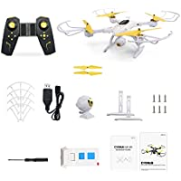 MKLOT JJRC H39WH Pocket Drone Mini WiFi Foldable RC Quadcopter FPV 2.0MP 720P HD Camera 4CH 6-Axis Gyro w/ Switchable Controller RTF One Key Return Helicopter Best Gift for Boys Kids Children