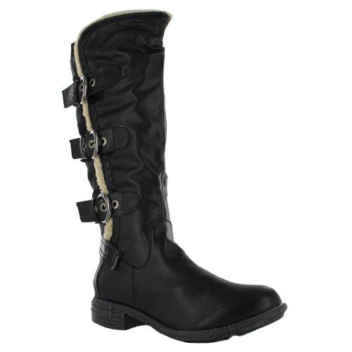 Botas negro mujer para Footwear Sensation negro Wg8xqaPwfv