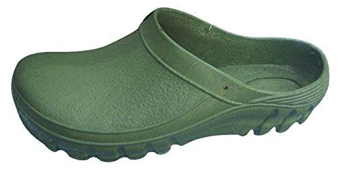 Zoccolo in PVC taglia 46, colore verde