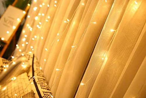ViperFly LED Curtain Lights – 300 LED Fairy Lights – Outdoor Lights