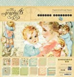 Graphic 45 Little Darlings 12 by 12-Inch Paper Pads