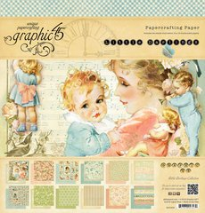 Graphic 45 Little Darlings 12 by 12-Inch Paper Pads (Lullaby Double Sided Paper)