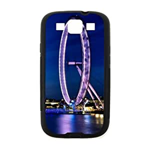 Beautiful Design,London Eye Good Quality Samsung Galaxy S3 I9300 TPU (Laser Technology) Case, Cell Phone Cover by supermalls