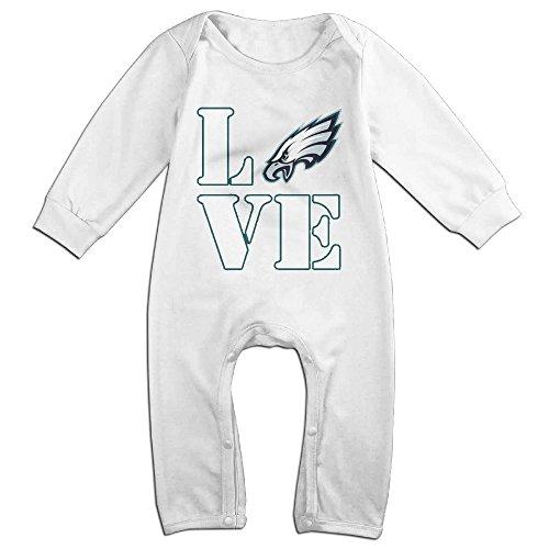 I Love Philadelphia Logo Eagles Baby Onesie Romper Jumpsuit Baby Clothes