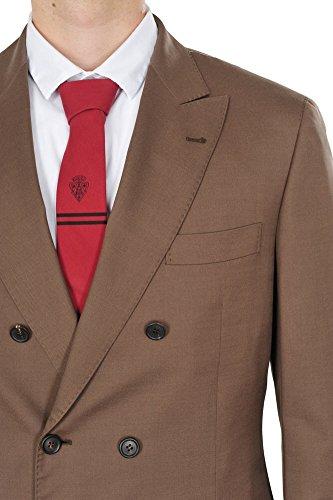 Brunello Cucinelli Abito Uomo Marrone Blazer, pantaloni Marrone 52 normale