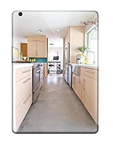 Awesome Bright Galley Kitchen In Open Floor Plan Flip Case With Fashion Design For Ipad Air