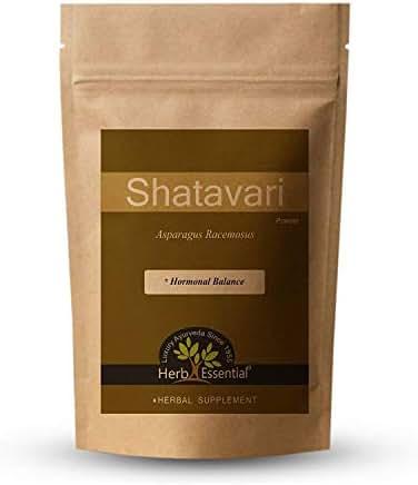 Jain's Pure Shatavari Asparagus Racemosus Powder, 50 Gram - Indian Ayurveda's Pure Natural Herbal Essential Supplement Powder
