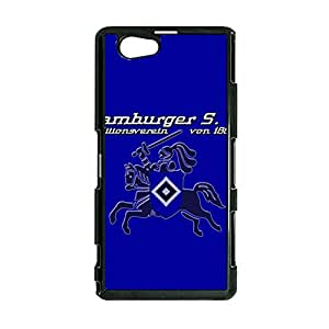 Individuality Hamburger Sportverein FC Logo Durable Phone Case for Sony Xperia Z1 Compact HSV Logo Image