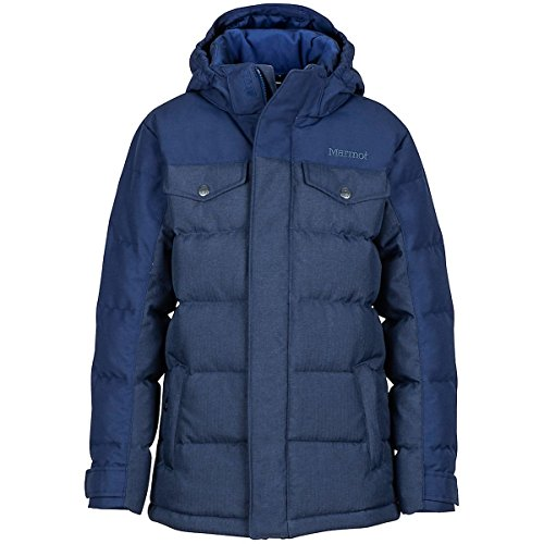 Marmot Fordham Down Jacket - Boys' Arctic Navy, S by Marmot