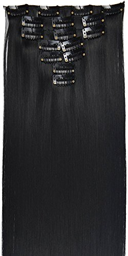 TOPREETY 130g Synthetic Extensions Black product image