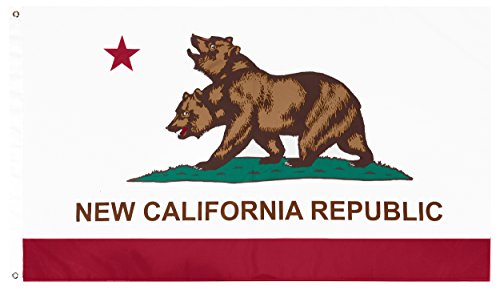 New California Republic (NCR) Flag,Fallout Flag, Exclusive Fallout Merchandise for Indoor or Outdoor Use, 100% Polyester, 3 x 5 Ft