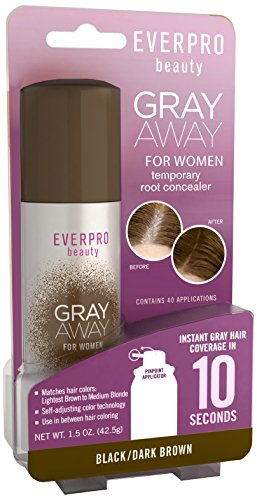 Gray Away Womens Hair Hilighter, Dark Brown, 1.5 Ounce