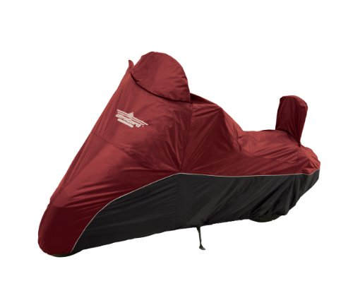 (UltraGard 4-459AB Cranberry/Black Cruiser Motorcycle)