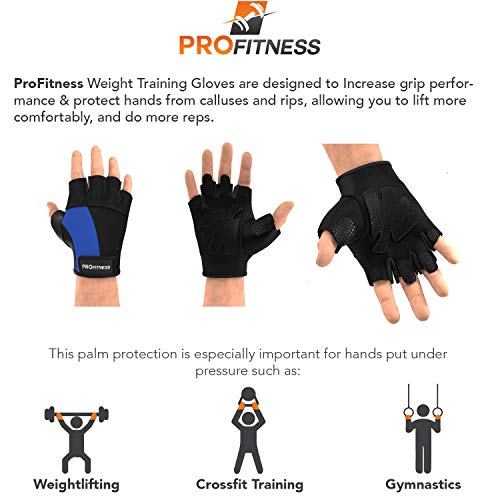 Gym gloves weight lifting grip