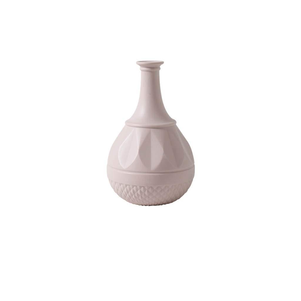 セラミック花瓶北欧insスタイル現代のクリエイティブリビングルーム花瓶ホーム寝室のテーブルデコレーション (Edition : A) B07STF43G3  A