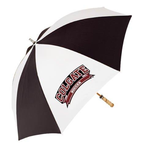 Colgate 62 Inch Black/White Umbrella 'Soccer' by CollegeFanGear
