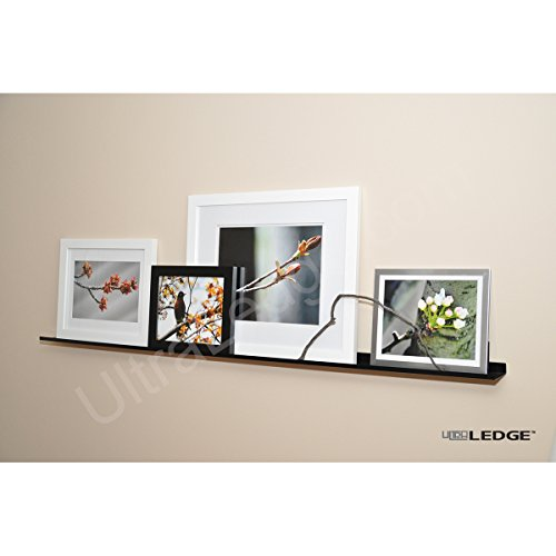 "Review 5'/60"" UltraLedge Art Display / Picture Ledge / Floating Shelf, By ULTRAledge by ULTRAledge"