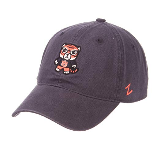 (Zephyr NCAA Auburn Tigers -Adult Shibuya Relaxed Cap, Adjustable, Navy)