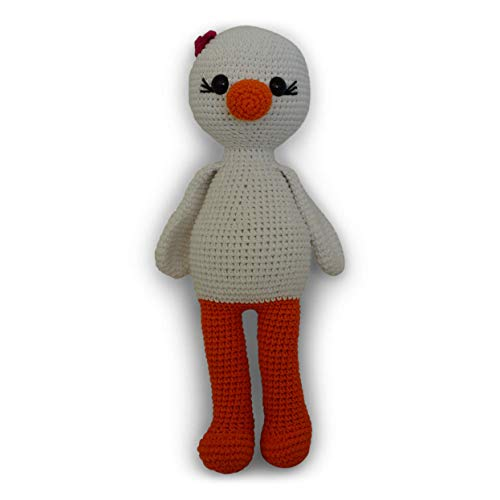 Bibi handmade crochet amigurumi duck