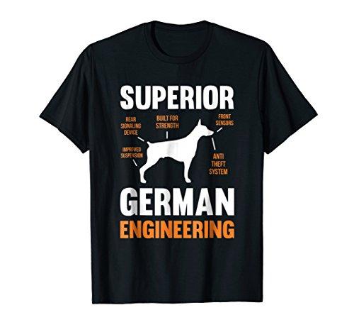 Mens Superior German Engineering | Doberman Pinscher T-Shirt XL (Doberman Pinscher)