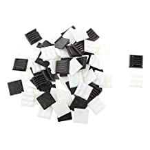 200g 20*20mm Vitreous Glass Mosaic Tiles Mix Arts & Crafts Black & White