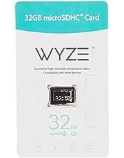 Wyze Labs WYZEMSD32C10 Expandable Storage 32GB MicroSDHC Card Class 10, Black