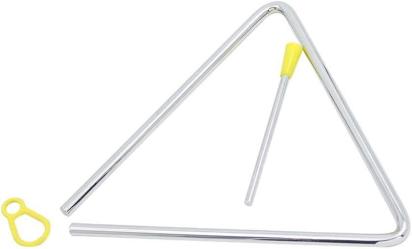 Bnineteenteam Triangle Musical pour Instrument de Percussion Musicale Enfants pour la Petite enfance