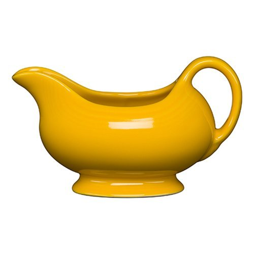 Homer Laughlin 486-342 18-1/2 Oz Sauce Boat, Daffodil by Homer Laughlin (Image #1)
