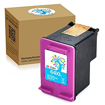 Amazoncom Hbo Remanufactured 64xl Ink Cartridge High Yield Ink