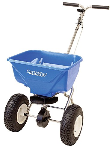 Earthway 2130SS 65 Pound High Output Spreader, Stainless Steel Frame by Earthway
