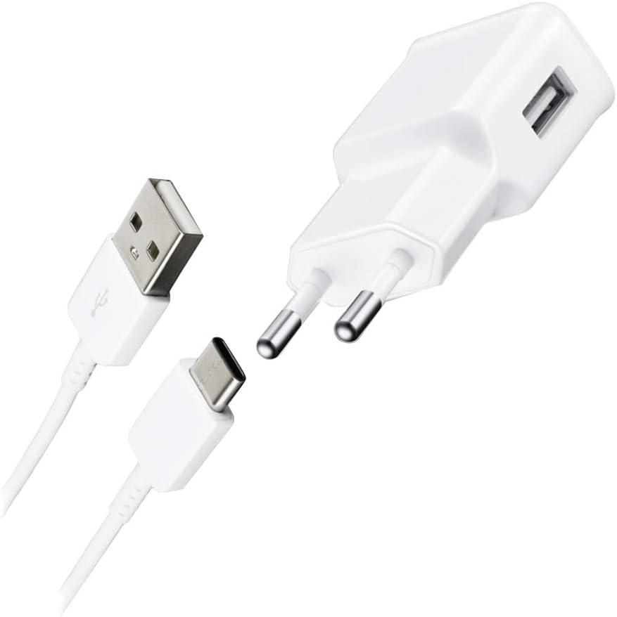 Samsung HRTE2 color blanco Cargador con cable de datos Galaxy Tab 3