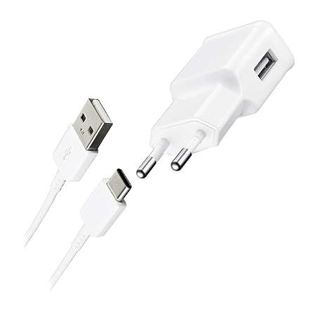 Samsung HRTE2 - Cargador con Cable de Datos Galaxy Tab 3, Color Blanco