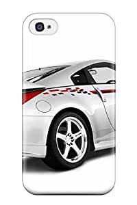 Durable Defender Case For Iphone 4/4s Tpu Cover(nissan Vehicles Cars Nissan) wangjiang maoyi