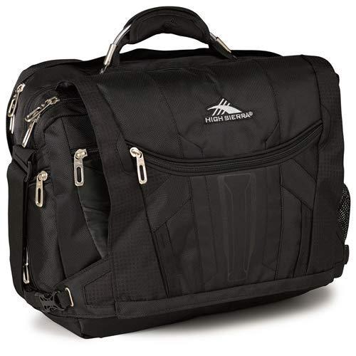 High Sierra XBT TSA Messenger Bag, 17-inch Laptop Bag, - Sling High Sierra