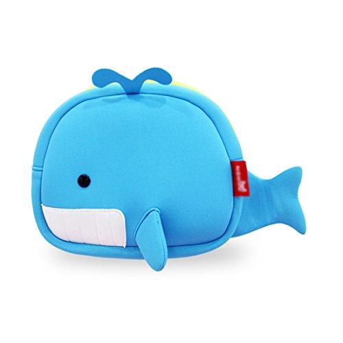 Nohoo 3D Whale Kids shoulder bag
