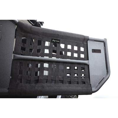 RAMPAGE PRODUCTS 7684 Black TrailDoors for 4-Door Jeep JK Wrangler ()