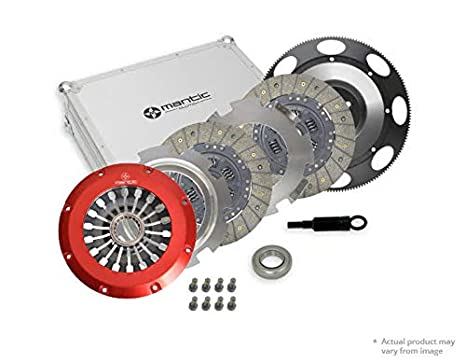 Mantic Track Clutch Kit | Mantic Aluminium Billet Cover Assembly | Twin Organic Clutch Plates |
