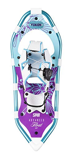 (Yukon Charlies Advanced Float Spin Women's Snowshoe Kit, 821)