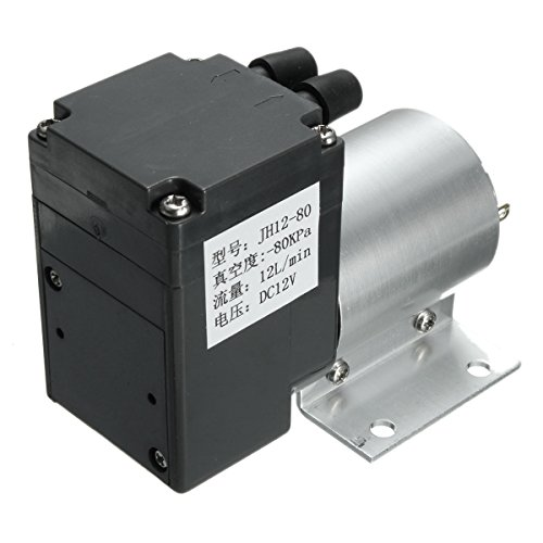 DC 12V Mini Vacuum Pump Negative Pressure Suction Pump 12L/min 120kpa With Holder by INNI (Image #3)