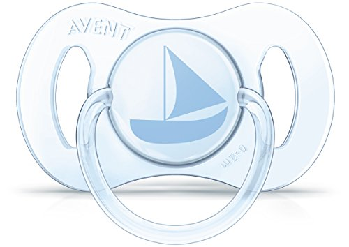 Philips Avent Newborn Pacifier, 0-2 months, blue/green, 2 pack, SCF151/01