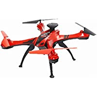 Remote Control Helicopter,Feilun FX176C1 Large Four-Axis Aerial Photography Helicopter 4.5 Channel GPS Remote Control Helicopter Professional By Dacawin (Red)