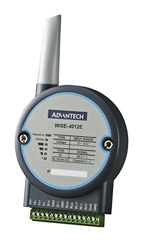 (ADVANTECH WISE-4012E-AE-WA I/O Module, IoT Wireless, 6 Channel, 2X 0 to 10 V Input, 2X Digital Input, 2X Relay Output)
