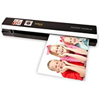 Vupoint Solutions Magic InstaScan PRO Portable Auto-Feed Smart Scanner with Color LCD Display (PDS-ST480-VP)