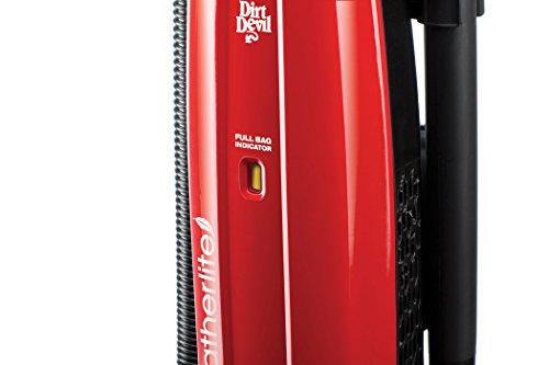 Dirt Devil Vacuum Cleaner Featherlite Corded Bagged Upright Vacuum UD30010 by Dirt Devil (Image #4)