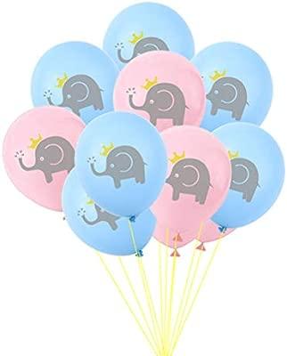 Amosfun 30 Unids 12 Pulgadas Elefante Globos Género Reveal ...